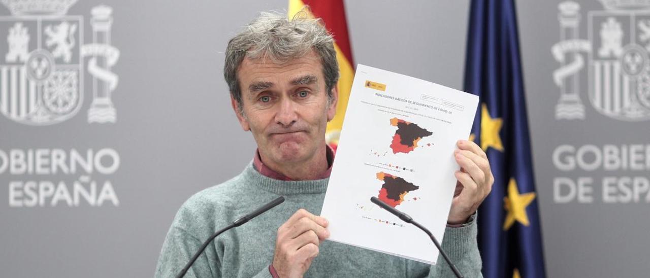 Simón dice que no es el momento de un confinamiento domiciliario en España