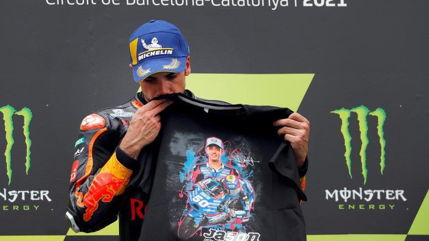 Miguel Oliveira, ganador de MotoGP 2021 en el circuito de Montmeló