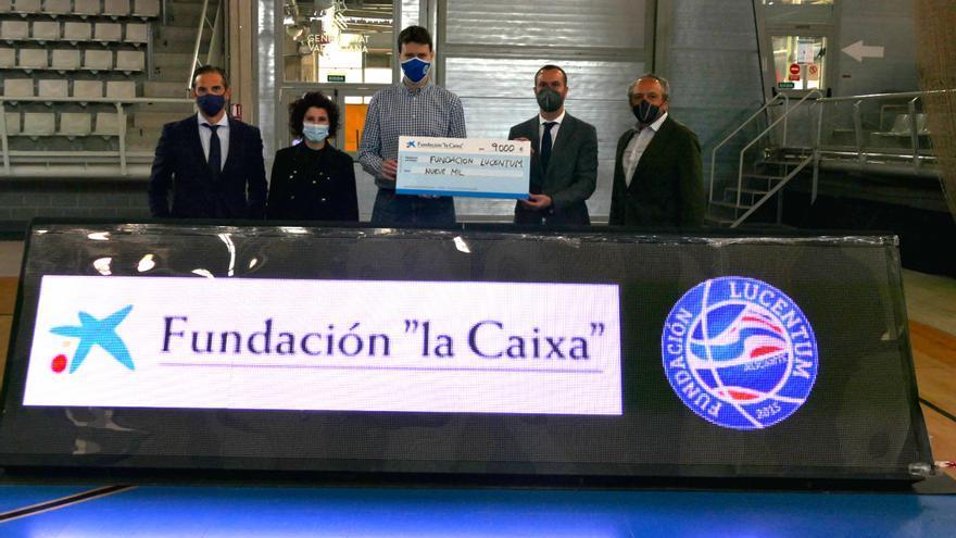 """La Fundación """"la Caixa"""" y CaixaBank colaboran con la Fundación Lucentum"""