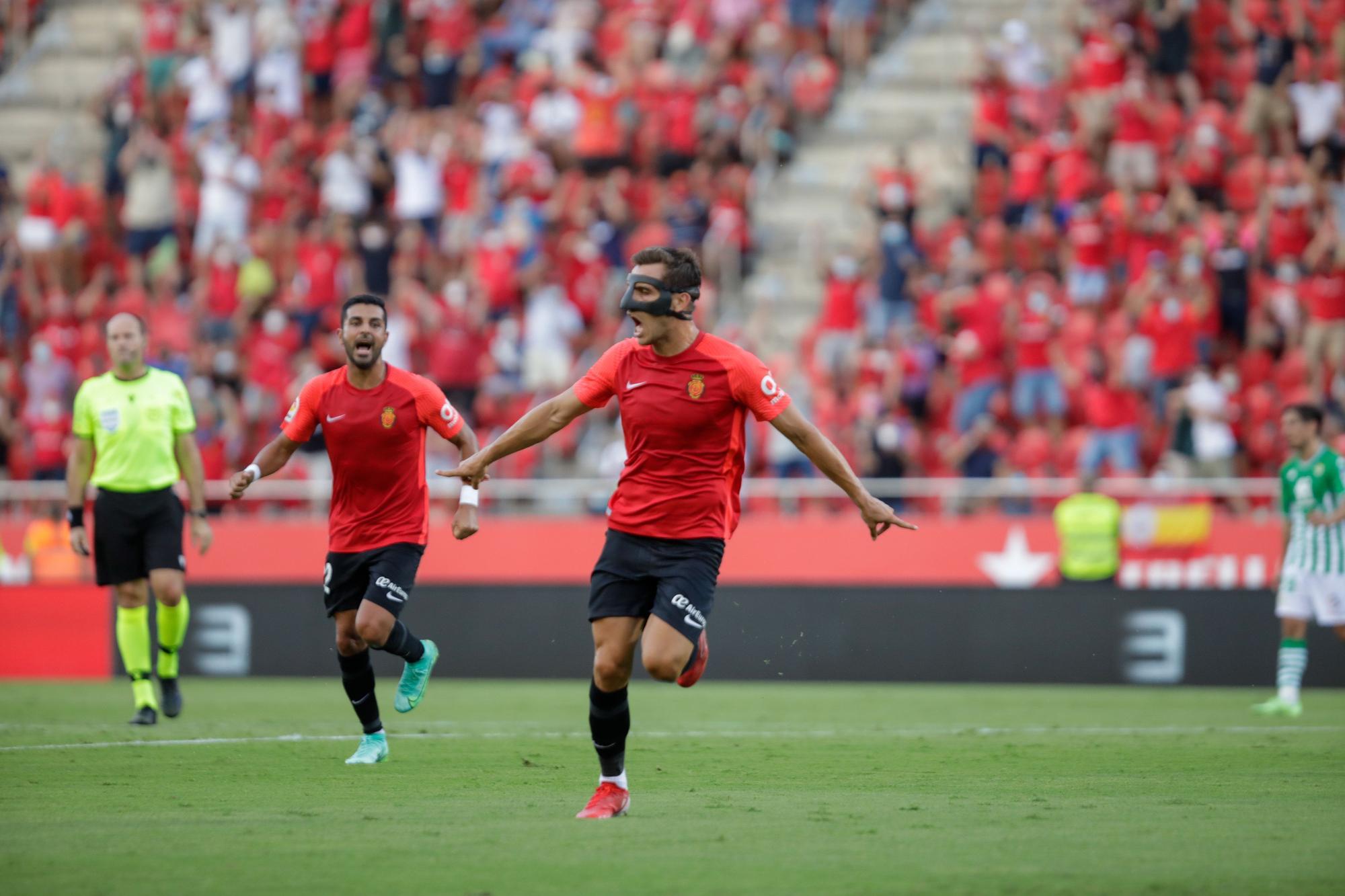 Regreso con sabor agridulce del Mallorca frente al Betis (1-1)