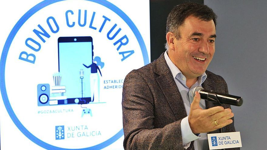 La Xunta lanza un bono cultura de 50 euros para gastar entre noviembre y diciembre