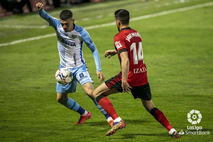 Las imágenes del CD Mirandés - Málaga CF, que cierra la 27ª jornada de LaLiga SmartBank