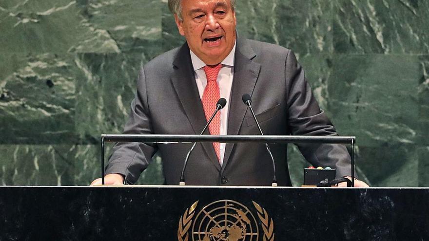 L'ONU insta a declarar l'«estat d'emergència climàtica»