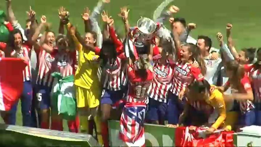 El Atlético de Madrid se proclama campeón de la Liga Iberdrola