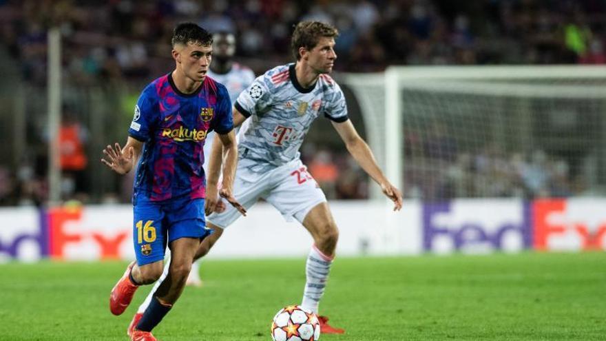 El Barça ata a Pedri con mil millones de euros de cláusula