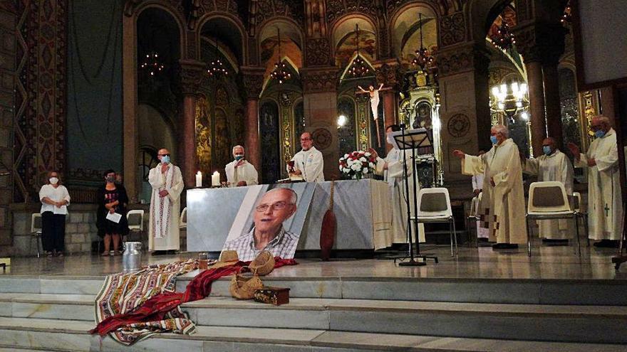 Els claretians fan una missa pel bisbe Casaldàliga a Barcelona