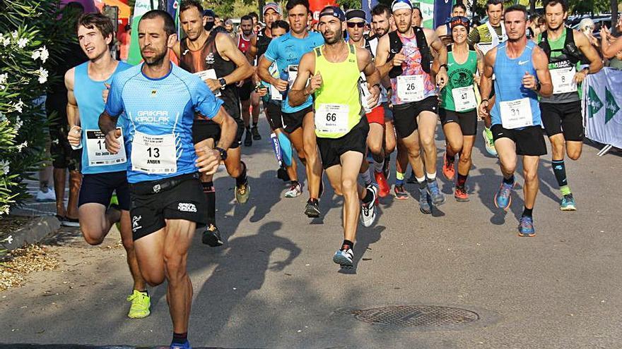 Ander de Luis y Silvia Piera ganan el Trail Son Quint