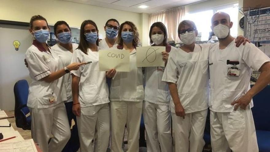 El hospital de Alzira se vacía de pacientes Covid