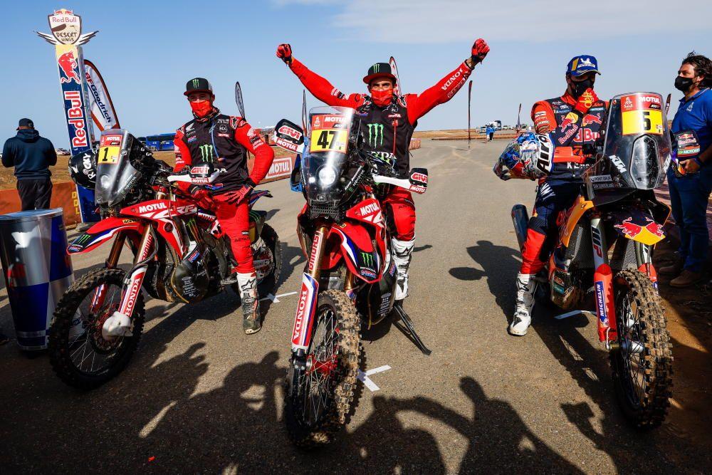 La 13ª etapa del Dakar, en imágenes
