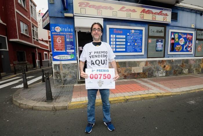 Lotería en Las Palmas de Gran Canaria  | 22/12/2019 | Fotógrafo: Tony Hernández