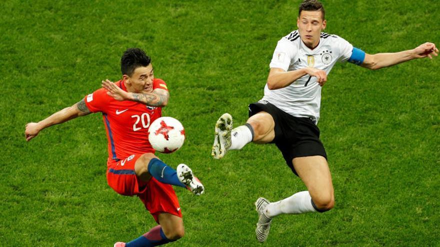 Alemania y Chile firman el empate y aplazan su pase a semifinales