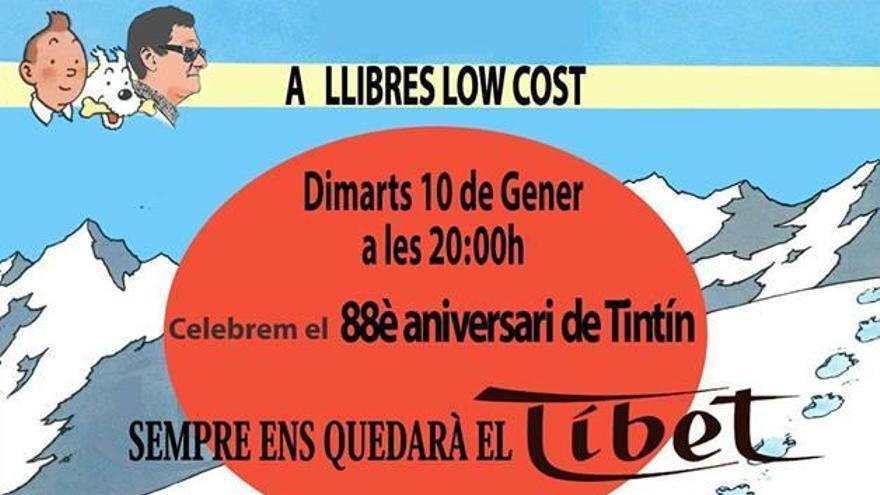La llibreria Low Cost de Figueres celebra el 88è aniversari de Tintin