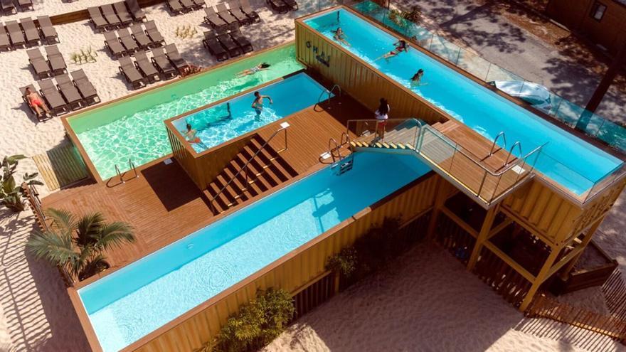 La piscina más grande y pintoresca de Europa: a tres horas en coche de Vigo