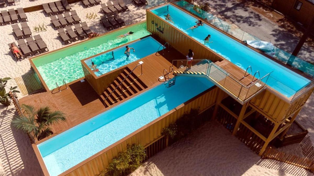 La experiencia que ofrece la piscina es única en el mundo