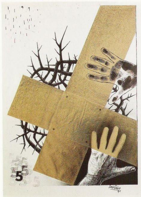 Obra de Luis Quico para la V Estación del Vía Crucis del Arte Zamorano