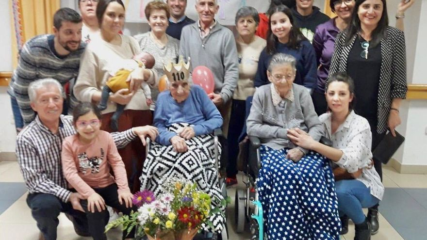 Fallece a los 111 años Vicenta Prieto, la abuela de Santa Croya de Tera
