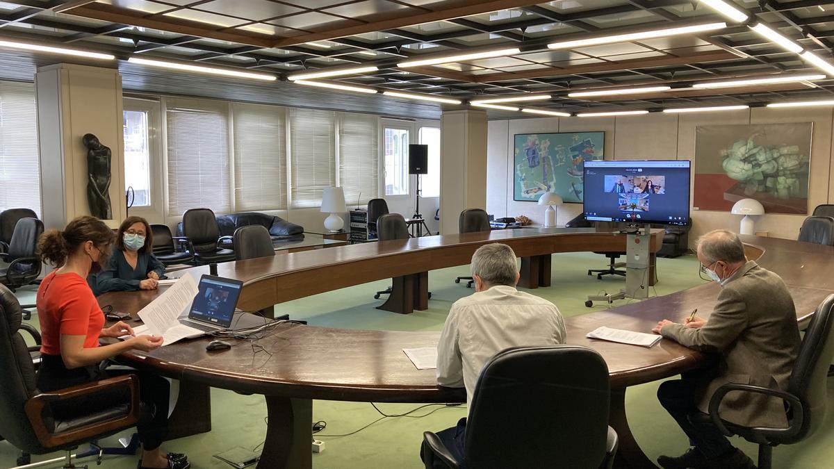 Reunión telemática de la Junta Consultiva de la Reserva Regional de Caza de la Sierra de la Culebra.