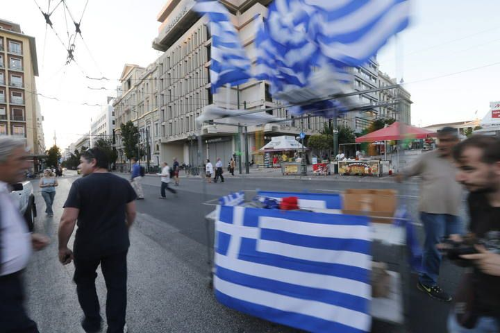 Grecia celebra la victoria del 'no' en el referéndum