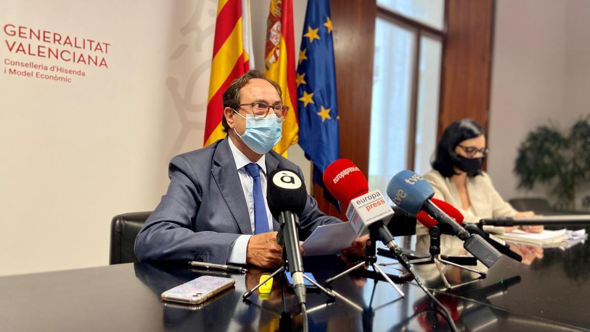 Soler, con motivo de su intervención en el Consejo de Política Fiscal y Financiera
