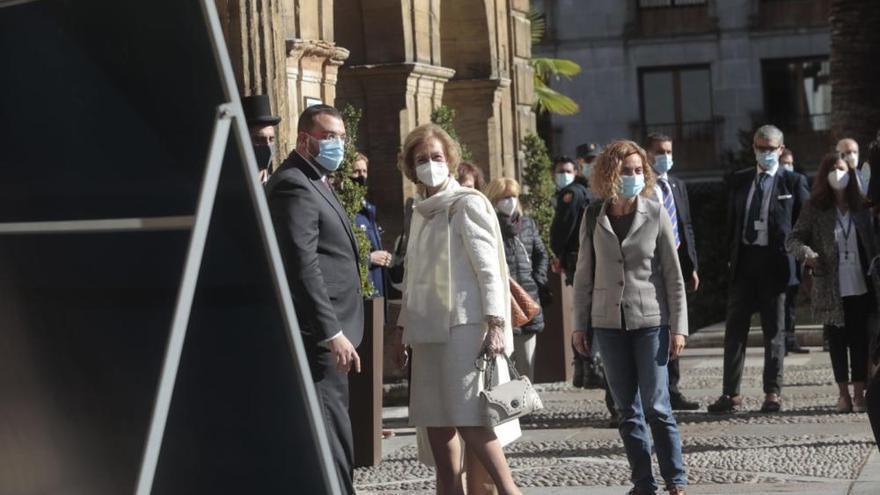 """Premios """"Princesa"""": llega a Oviedo la Reina Sofía"""