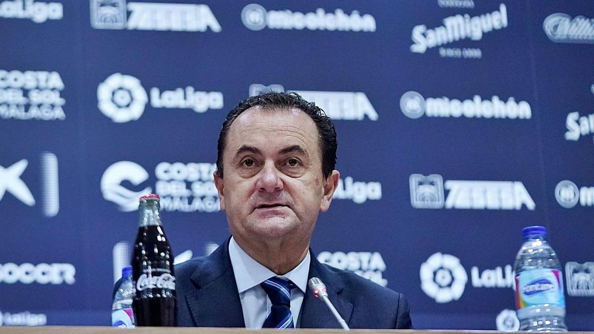 El administrador judicial del Málaga