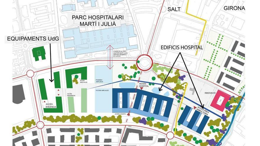 Ramon Brugada tem que hi hagi problemes d'espai en el nou campus de salut