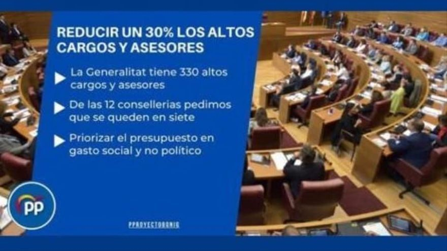 Compromís denuncia el uso partidista de las redes sociales municipales por el PP