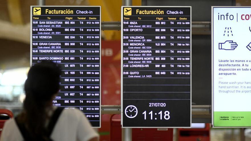 España saca a Marruecos de la lista de terceros países autorizados para viajar