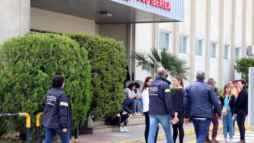 Operació oberta de l'Agència Tributària a la seu de GM Food Ibèrica, l'empresa més gran de les comarques gironines