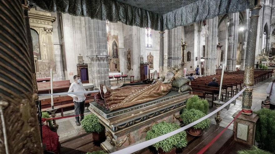 La tradición del Llit de la Mare de Déu se celebrará el próximo día 15 en la Catedral