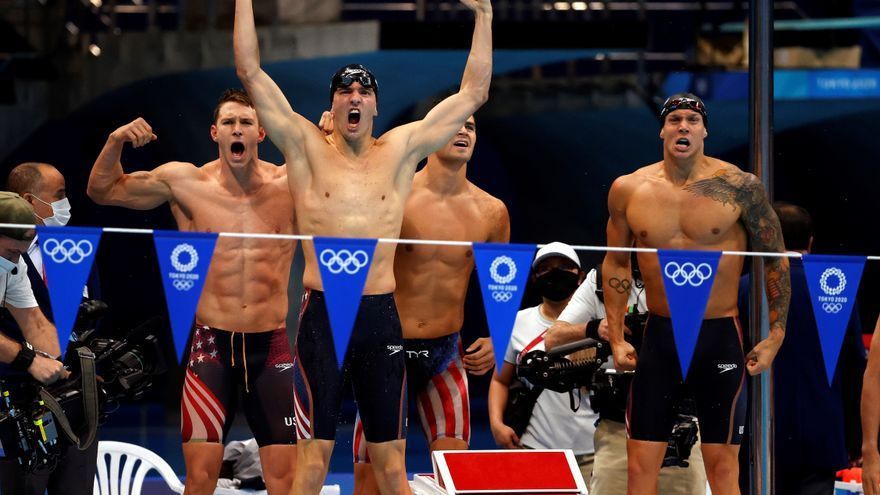 Dressel consigue su quinto oro y logra un récord mundial