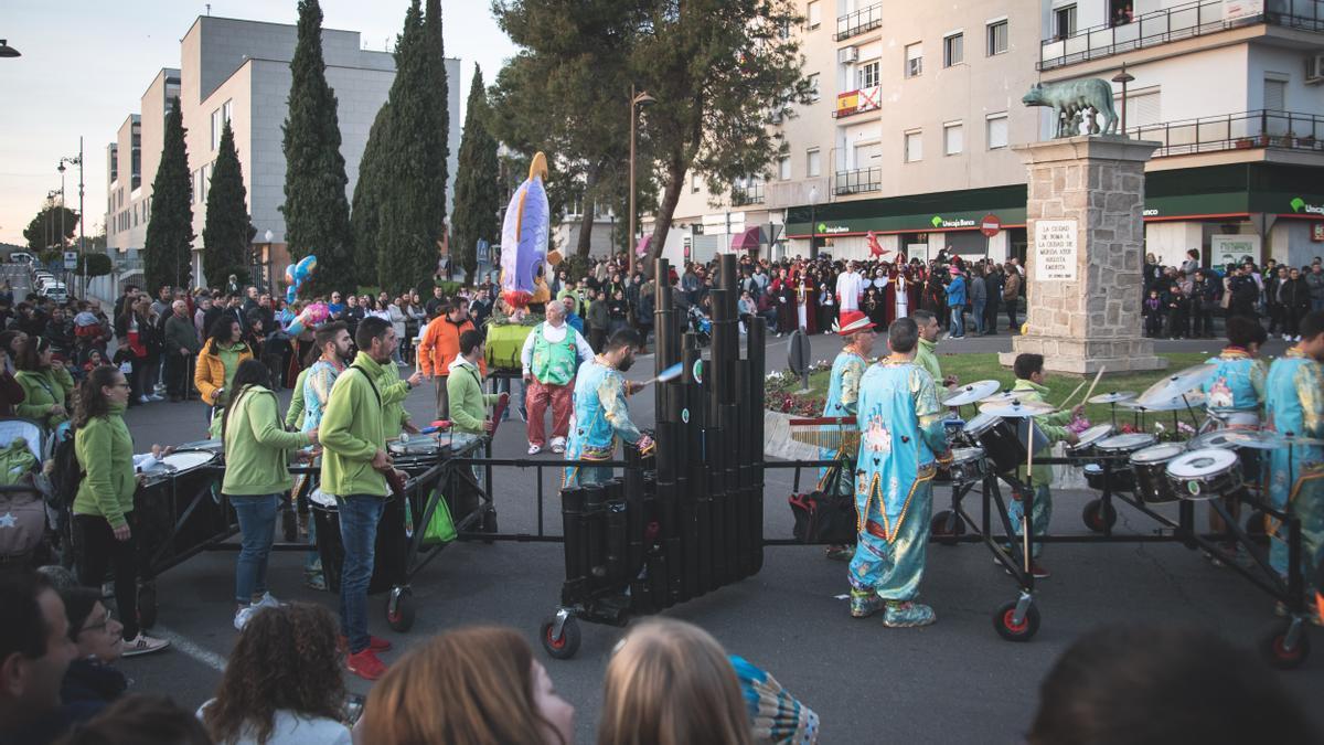 El tradicional entierro de la sardina, en una edición pasada del carnaval.