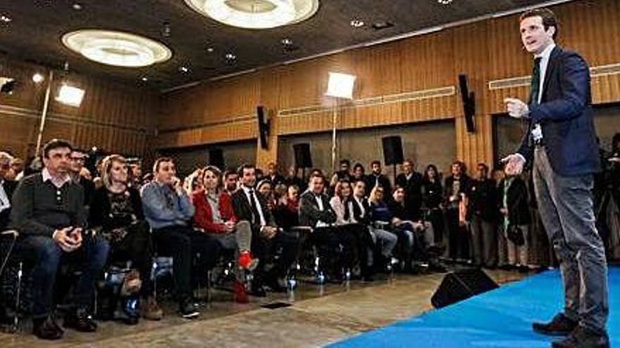 Casado: «Sánchez traiciona a España»