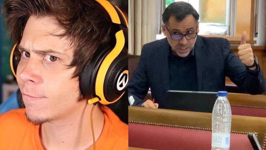 La viral respuesta del youtuber El Rubius al polémico tuit de un senador de Córdoba