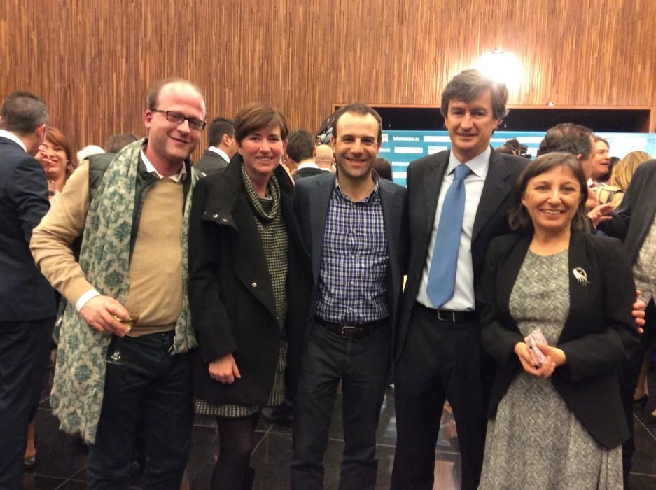 Javier Sáez, Ángel Llopes, Eva de la Cuadra, Javier Ínsula, Carmen Lizán