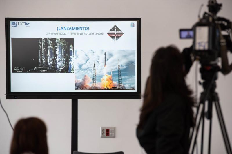 El IAC da a conocer las primeras imágenes captadas por la cámara infrarroja