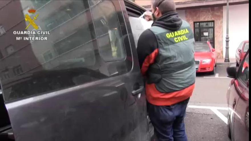 Cae una peligrosa banda acusada de robos con violencia, secuestros y torturas en Madrid