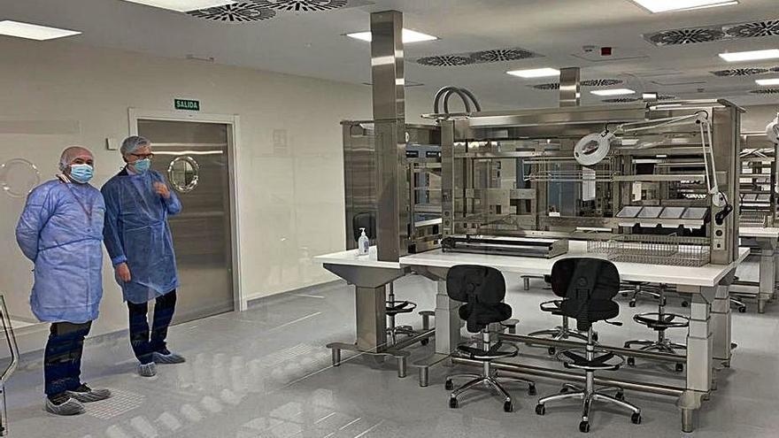 El Rafael Méndez estrena su central de esterilización