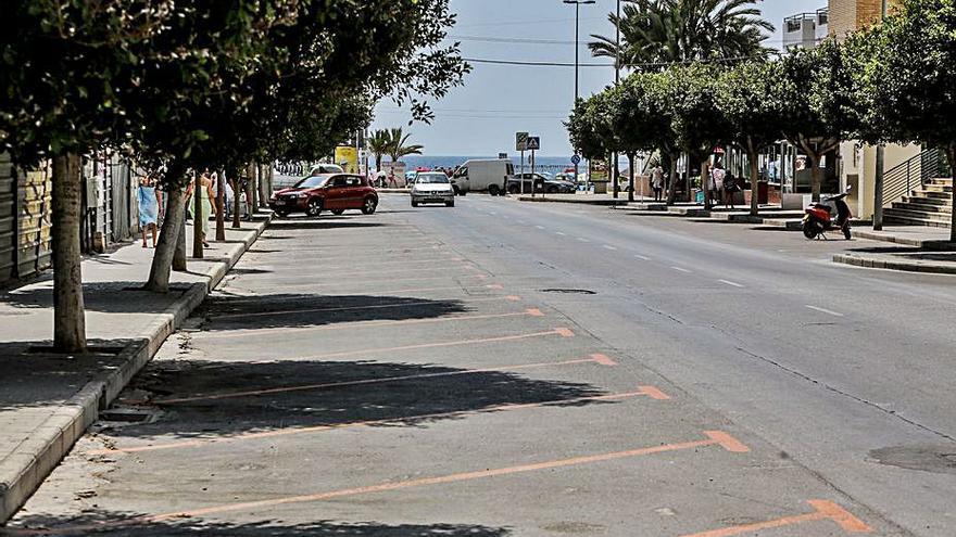 La Vila renovará la  principal avenida de La Cala tras años de deterioro