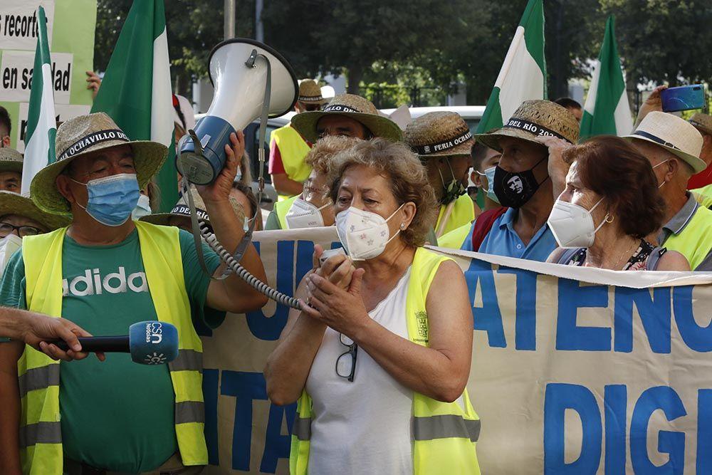La marcha por una atención sanitaria digna en zonas rurales llega a Córdoba