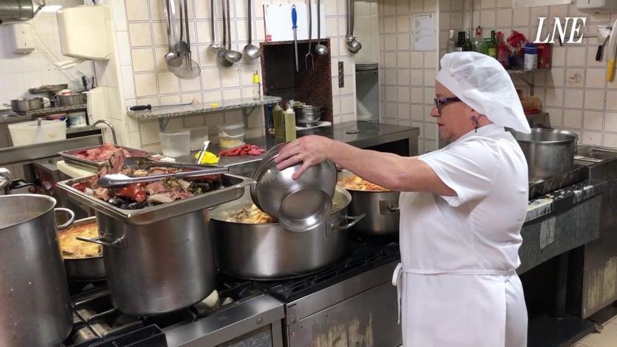 La cocinera del mejor pote asturiano de España desvela sus secretos
