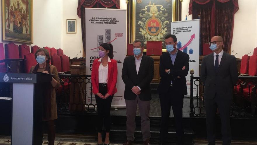 Elche pide aunar esfuerzos en investigación en el Día Mundial de la Lucha Contra el Sida