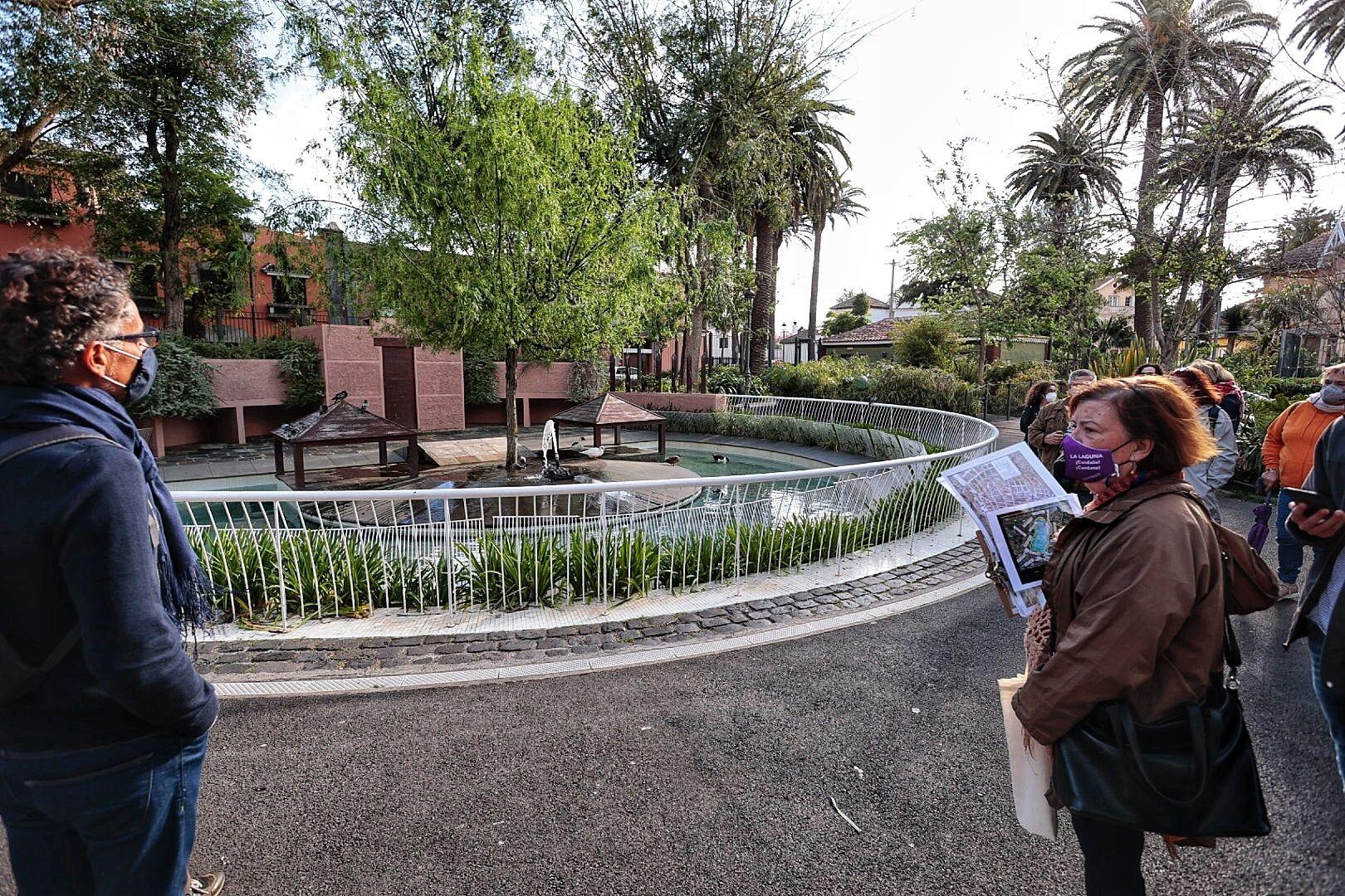 Ruta guiada del agua en La Laguna