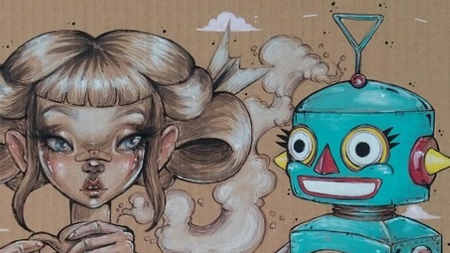 El CAC organiza un taller infantil de ilustración estilo Lowbrow con Aintzane Cruceta