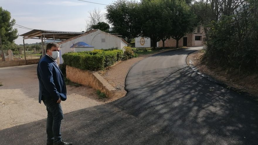 Mejoras en el acceso a la pedanía villenera de La Zafra tras los daños de la DANA de 2019