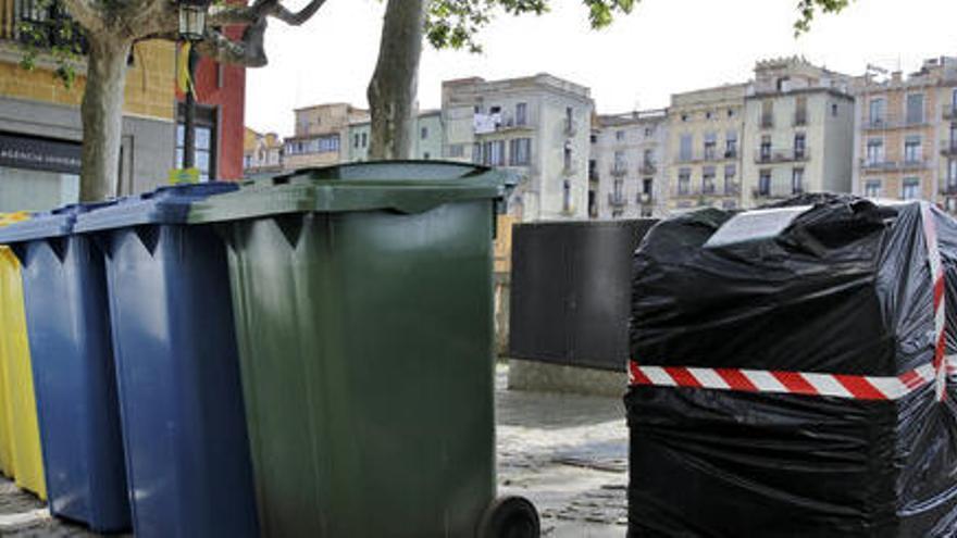 L'Ajuntament de Girona retirarà els contenidors soterrats del carrer de Santa Clara