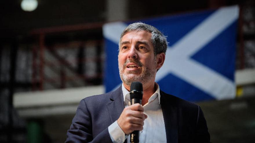 La defensa de Clavijo pide que el 'caso Grúas' pase al Supremo