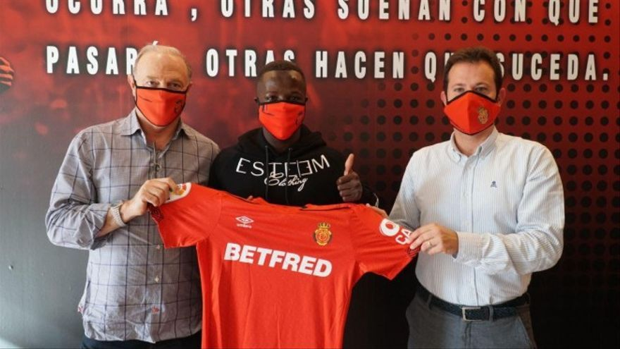 El Real Mallorca incorpora al senegalés Amath Ndiaye