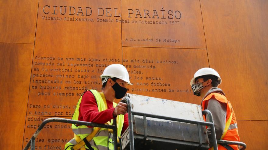 Recolocan el poema de Vicente Aleixandre tras corregir los errores tipográficos