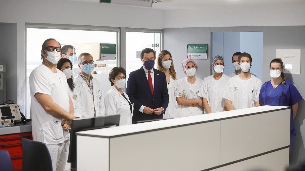 Andalucía pide 350.000 vacunas semanales para vacunar al 70% de la población antes de verano